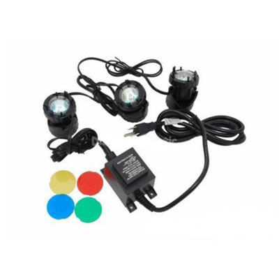 JPL1-3 Jebao Halogen Pond Light Kit of 3